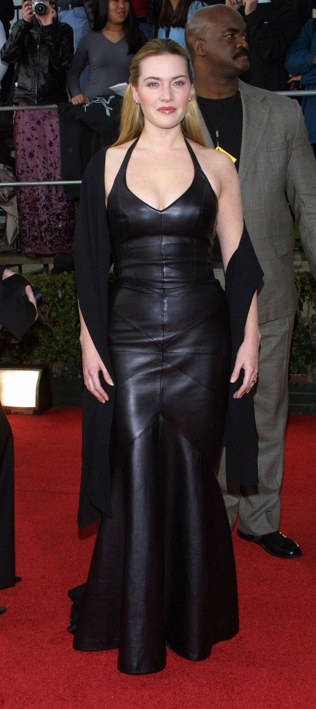 Kate Winslet Colorblock Dress
