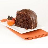 Moist Persimmon Pudding Cake Recipe   Recipes   Pinterest
