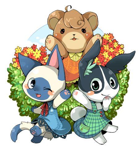 Tags: Anime, Fanart, Pixiv, Doubutsu no Mori, Fanart From Pixiv