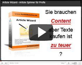 *+* ALLERLEI GUTE WÜNSCHE*+*: Article Wizard – deutscher Article Spinner