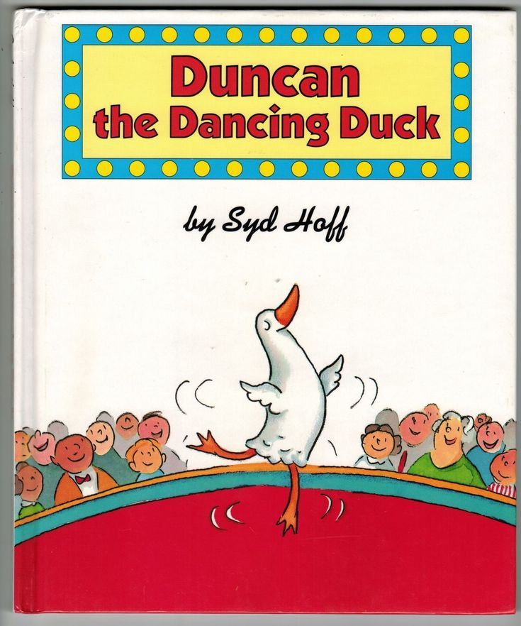 1994 Duncan The Dancing Duck Syd Hoff HC 1ST ED Book New
