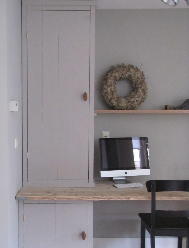 bureau met smalle kast - Google zoeken