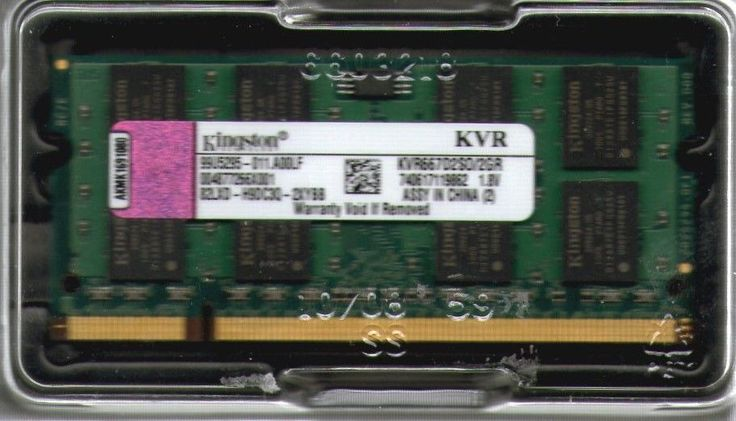 2GB Acer Aspire One 531h/532h/751h Netbook/Notebook/Laptop DDR2 RAM Memory