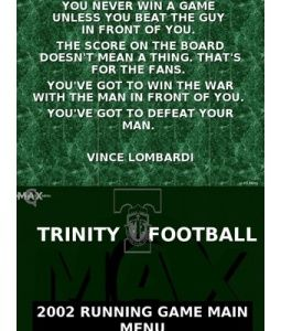 Coverdale Trinity High School-Lombardi Quote