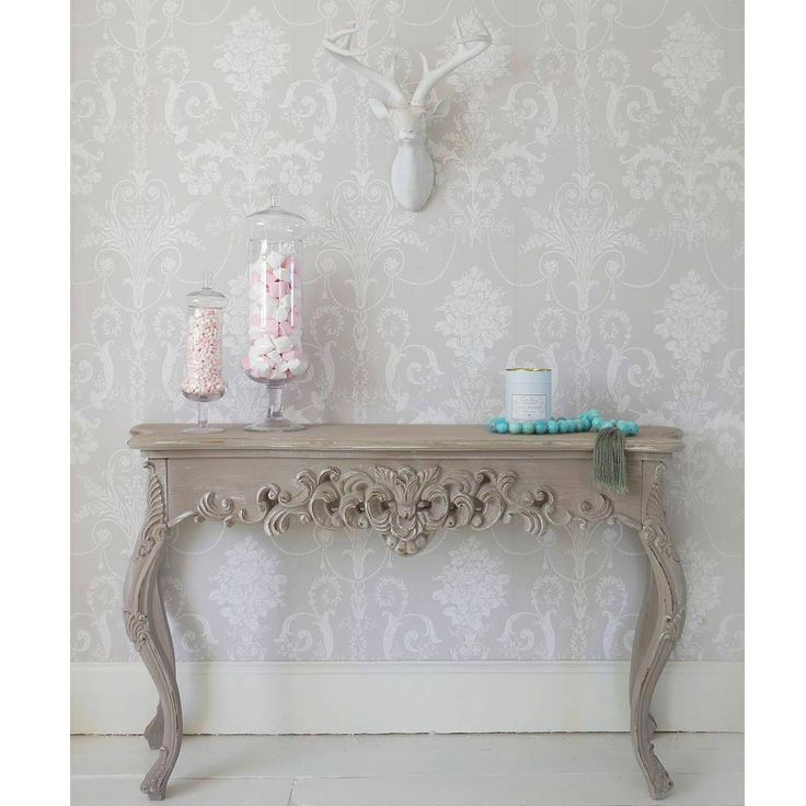 Grace Shabby Chic Console Table by The French Bedroom Company