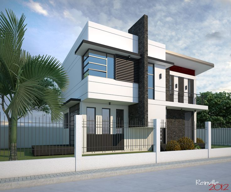 The Mind Blowing Double Storey Family House Is Well Designed With Beautiful  Features In And Out Side The House And You Will Find Various Designs Of  Living ...