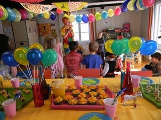 Cute Pippi Longstocking party
