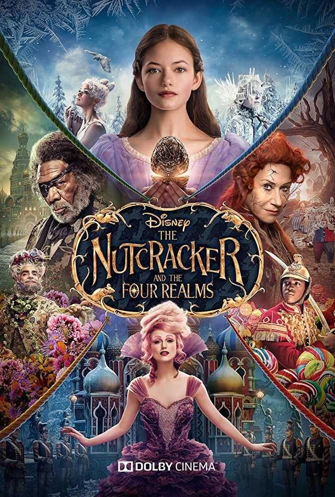 Morgan Freeman, Helen Mirren, and Mackenzie Foy in The Nutcracker ...
