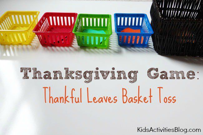 Are you looking for Thanksgiving games to get everyone moving? Here are Thanksgiving games for kids that will provide a lot of movement. Today, at the Kids Activities Blog, wefound the perfect solution for a day when the kids are stuck inside due to the cold, dreary fall weather. Thanksgiving Games Preparing Supplies Needed: different...Read More »