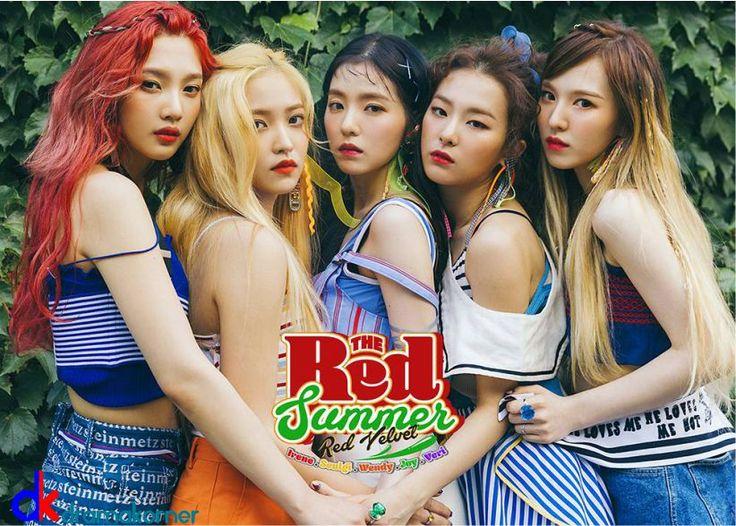 """Dramakorner.com - Comebacknya Red Velvet menjadi perhatian besar oleh masyarakat Korea dan dunia, pasalnya lagu baru Red Velvet """"Red Flavor"""" telah muncul di top 7 tangga musik.   #Album baru Red Velvet #Red Flavor #red velvet #SM Entertainment #The Red Summer"""