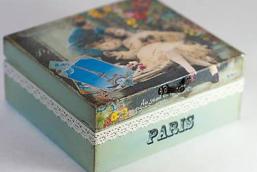 sean / Krabička Milenci v Paríži