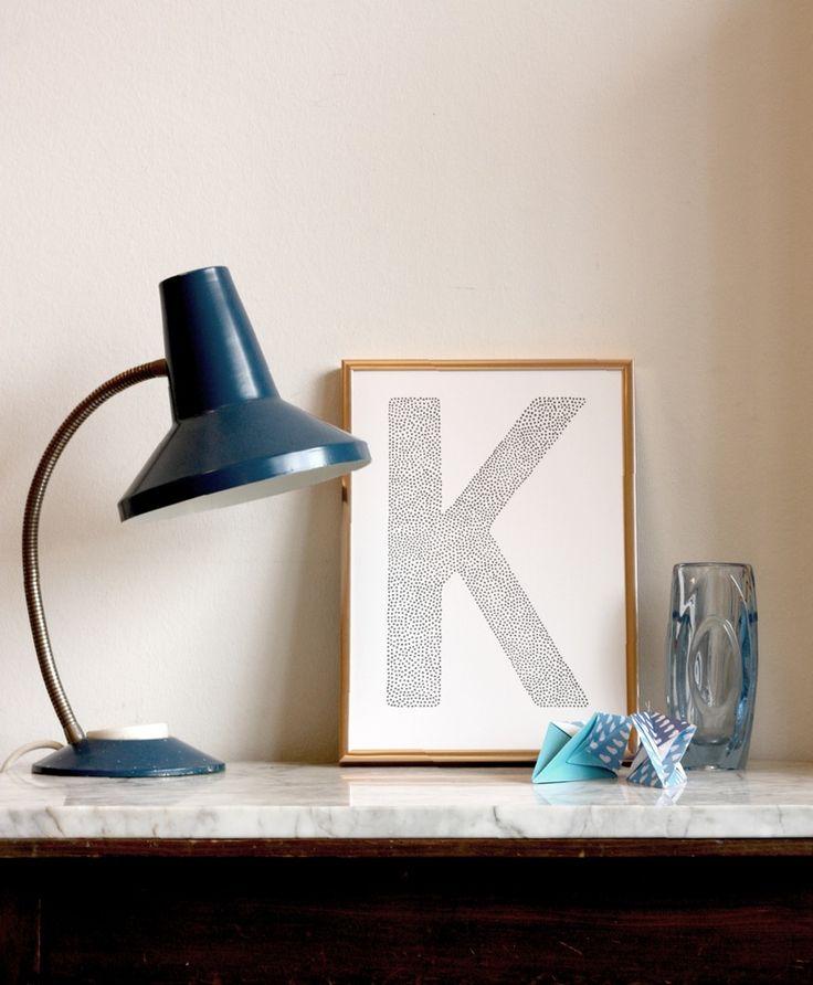 Letterposter [ K ] from byhornung