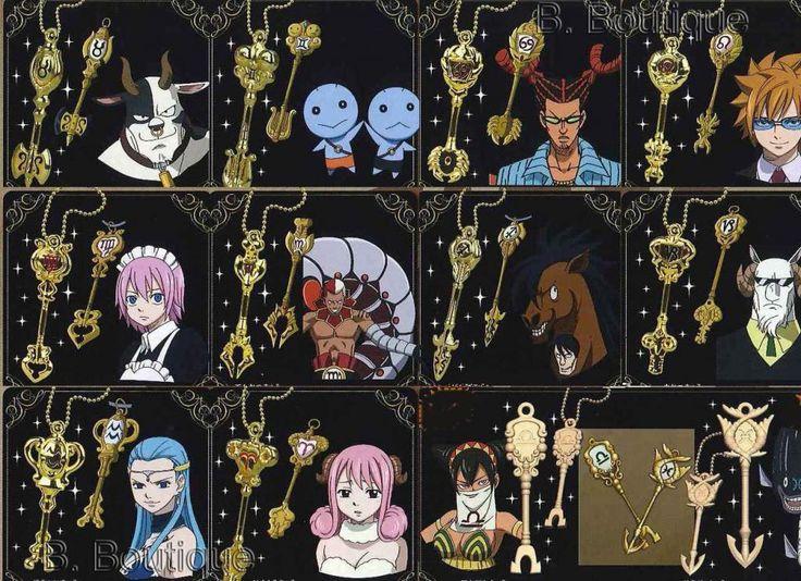 Fairy Tail Keys: Japanese, Anime | eBay
