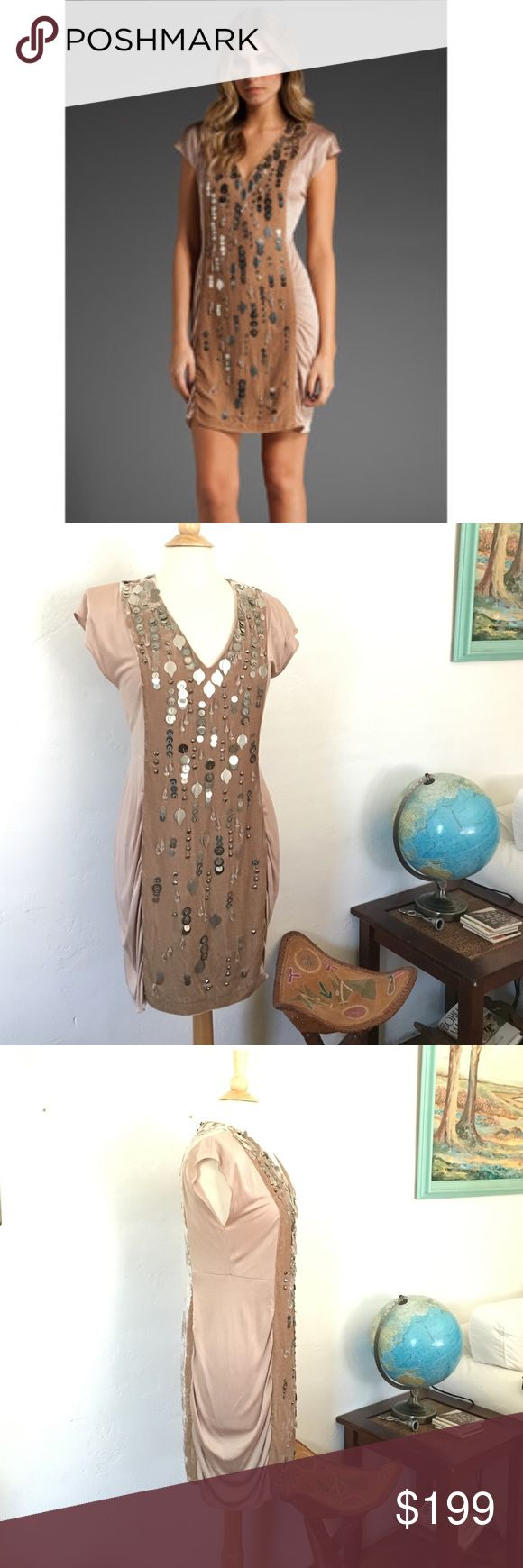 New Year's Dress Nanette Lepore Mosaic Dress Great designer party dress! Really great for a New Years party! Has been worn a few times but still in good condition. Needs to be dry cleaned since there are some sweat stains but they come right out right after dry cleaning.  Offers welcome! Nanette Lepore Dresses