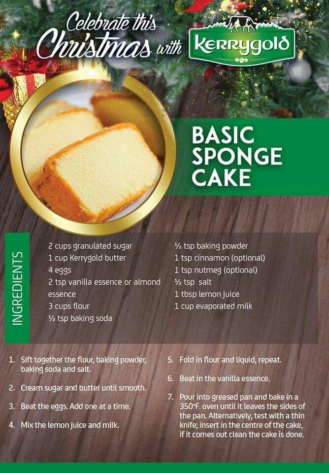 Sponge Cake Brownies Are