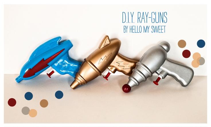 Sweet DIY: Retro Ray-gunTutorial - Blog - Hello My Sweet