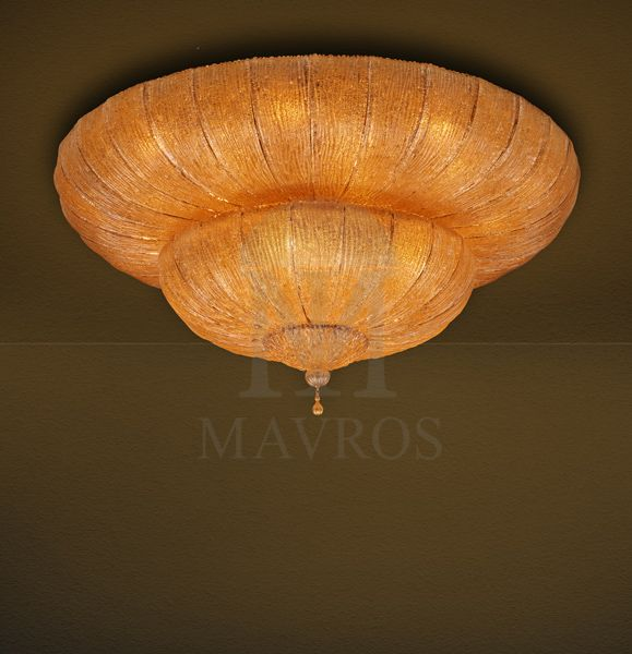 Classical Murano ceiling lamp | CASTELLO - MAVROS Lighting
