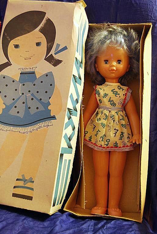 Кукла Ирина СССР Донецкий завод игрушек
