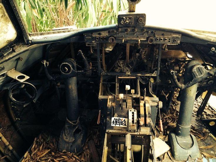 The Wreck of Air Aruba P4-YSA abandoned