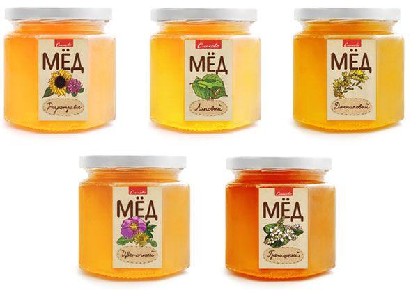 Оригинальная упаковка для меда