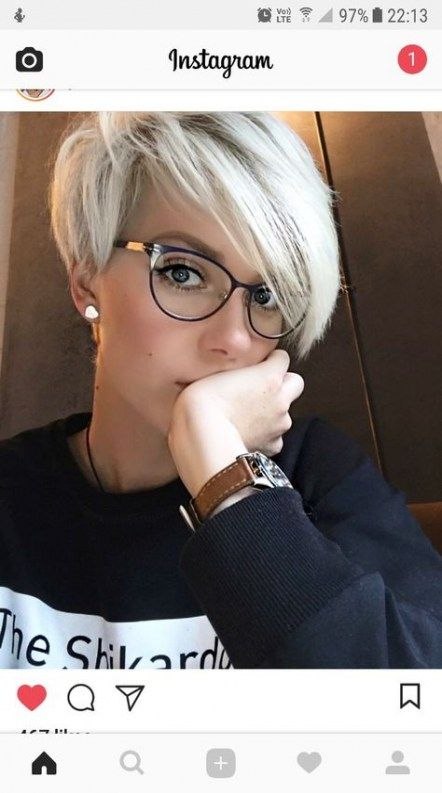 21+ Trendy Glasses Frames For Blondes Haircuts