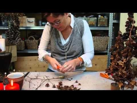 Elisabeth Bønløkke laver flere juledekorationer - YouTube