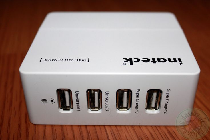 Inateck 4-Port 30W USB Travel Wall Charger Review