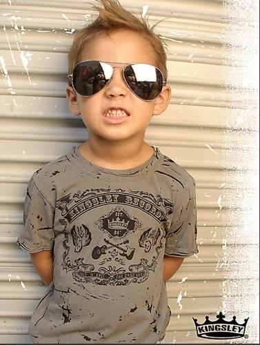 lol! this little boy is so cute!