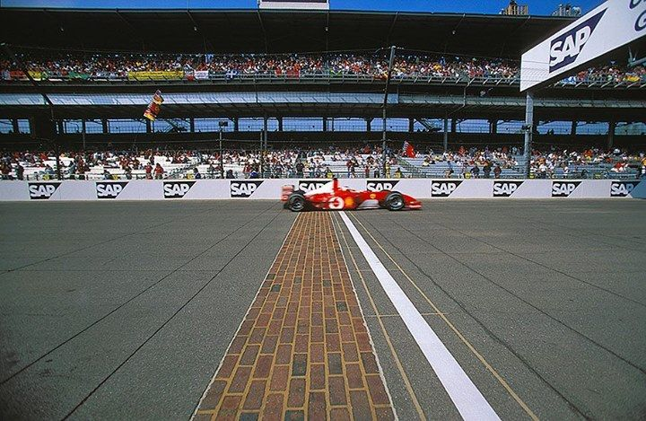 f1 F2002 in Indianapolis