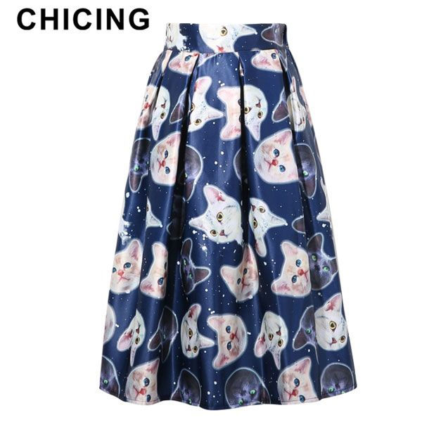 Galaxy Star Dots and 3D Cute Cat Animal Printed Skirt Only $22.99 => Save up to 60% and Free Shipping => Order Now! #Skirt outfits #Skirt steak #Skirt pattern #Skirt diy #skater Skirt #midi Skirt #tulle Skirt #maxi Skirt #pencil Skirt