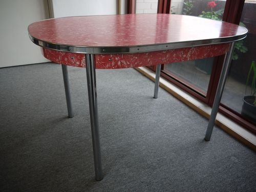 1000 Images About 1950s 60 Dining Settings Red On Pinterest Retro Kitche