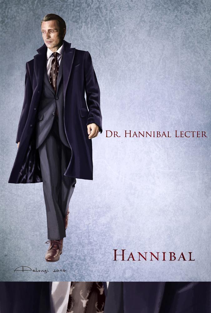 New #Hannibal costume sketch: Dr. Lecter and stags. @BryanFuller @DeLaurentiisCo @neoprod @lorettaramos pic.twitter.com/LGsazdEB5F