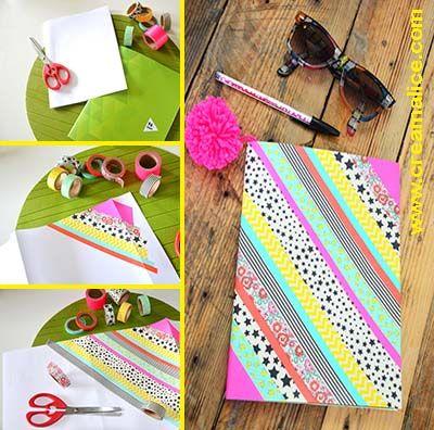 DIY-customisation-cahier-masking-tape
