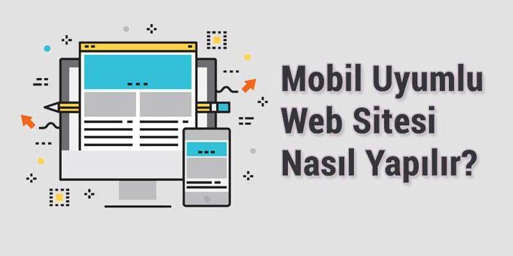 Mobil uyumlu web sitesi nasıl yapılır, mobil uyumlu web tasarım yapma yöntemleri ve responsive web sitesi nasıl olmalıdır gibi birçok konu hakkında bilgi burada