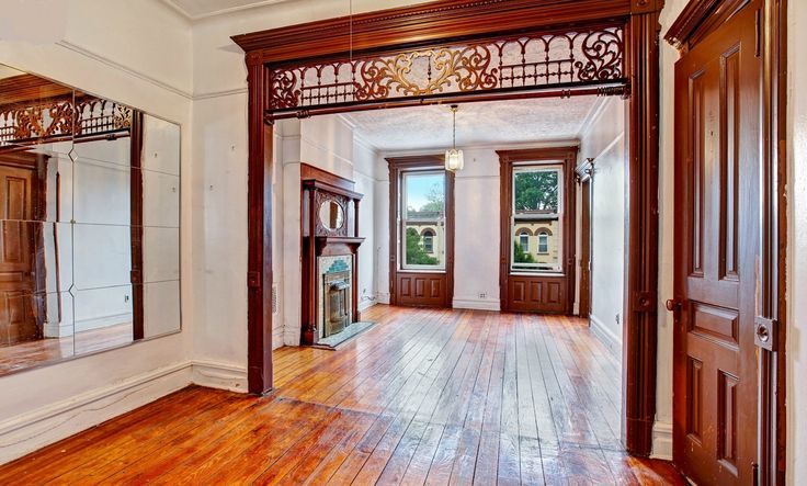 Brooklyn Halsey Street Victorian partition woodwork | by techpro12