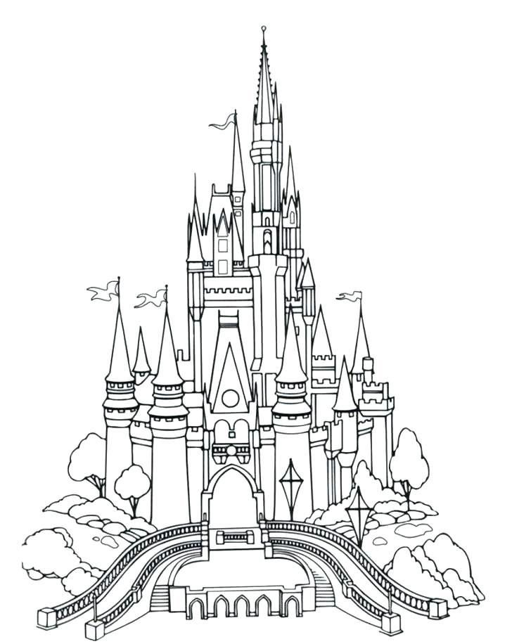 Disney Coloring Pages For Adults Best Coloring Pages For Kids Disney Activities Castle Coloring Page Disney Castle Drawing