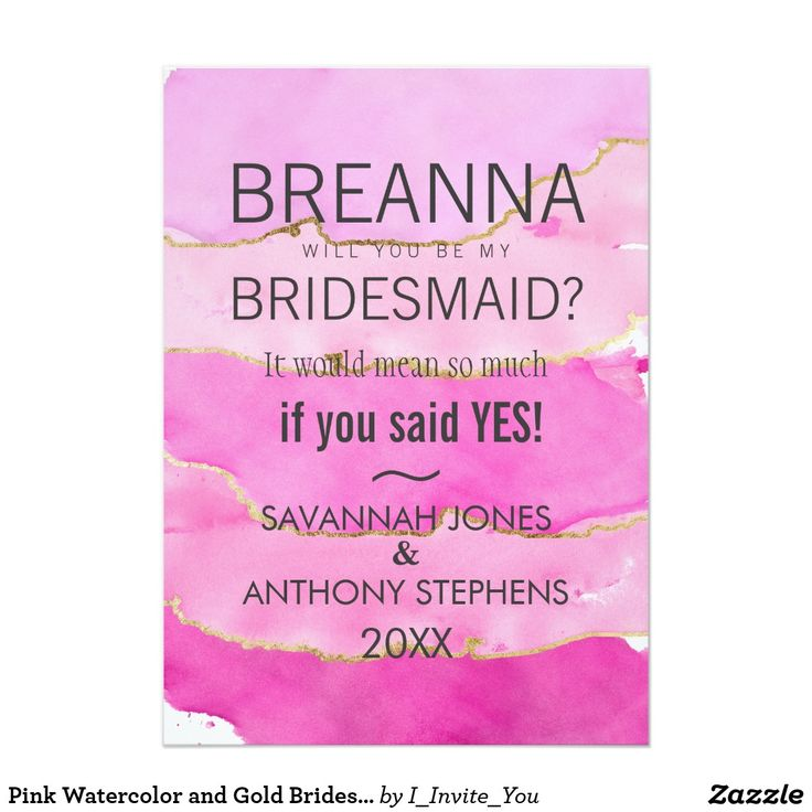 878 best Will You Be My Bridesmaid Cards images on Pinterest