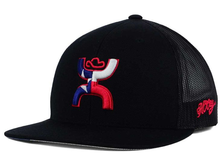 - Made of 50% Polyester, Woven, 40% Acrylic, Woven, 10% Wool, Woven - Snapback,Adjustable,Trucker - TEXAS flag under lid - 1581T-BLK