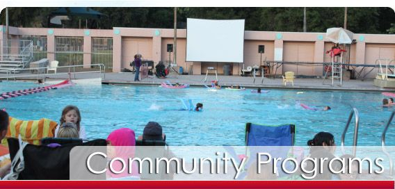 Dive-In Movie Nights 2013: Community Programs @ Rose Bowl Aquatics Center, Pasadena, CA