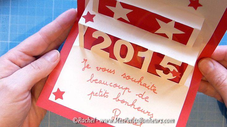 carte de voeux 2015 à imprimer et fabriquer