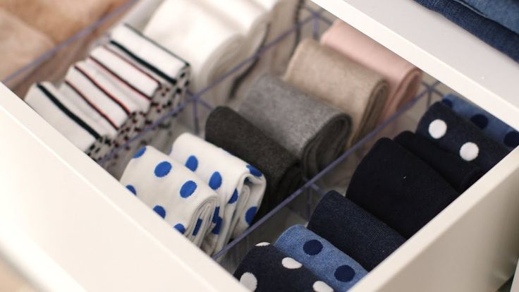 best 25  sock drawer organizing ideas on pinterest