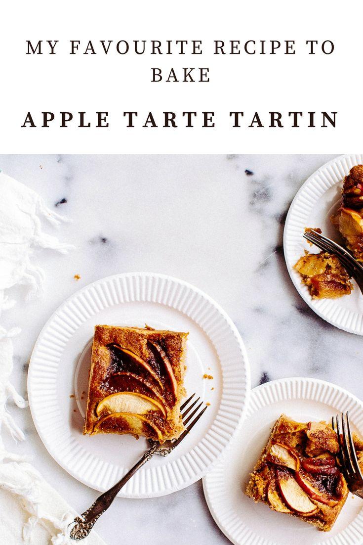 My scrumptious and classic Apple Tarte Tartin!