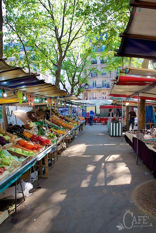 April in Paris - a look at all things Parisian through the lens of The Café Sucre Farine.com