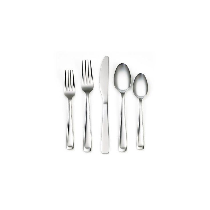 Cambridge Branson Mirror 20-pc. Silverware Set, Silver