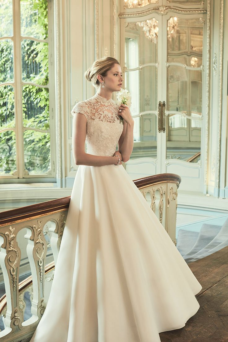 14 best A-line Wedding Dresses images on Pinterest | Couture wedding ...