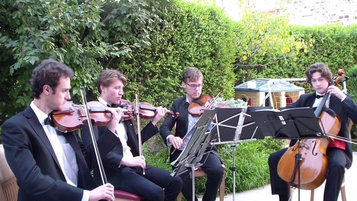HIRE A STRING QUARTET FOR WEDDING - RECEPTION - PARTY IN ISRAEL  רביעיית...