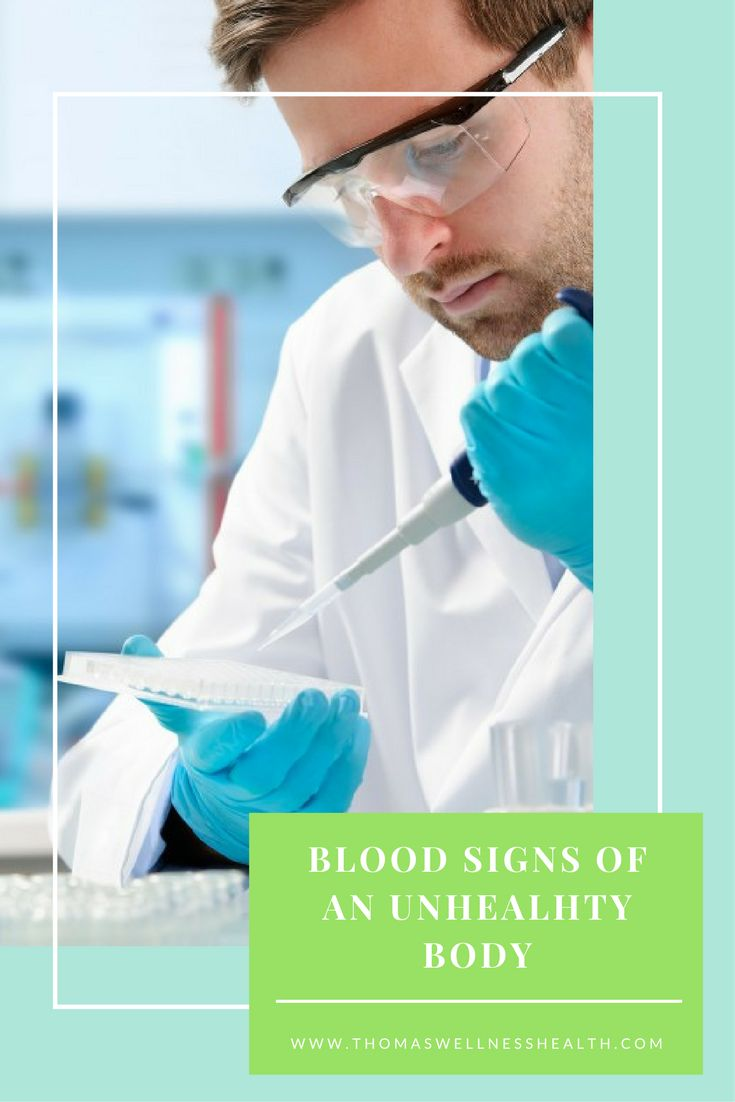 There are some obvious ways to discover if you have an unhealthy body. But the signs of an unhealthy body are also shown in the blood. Take a look at some of them!