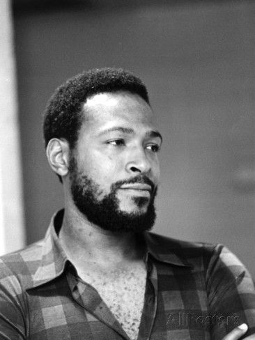 Marvin Gaye - 1974 Photographic Print