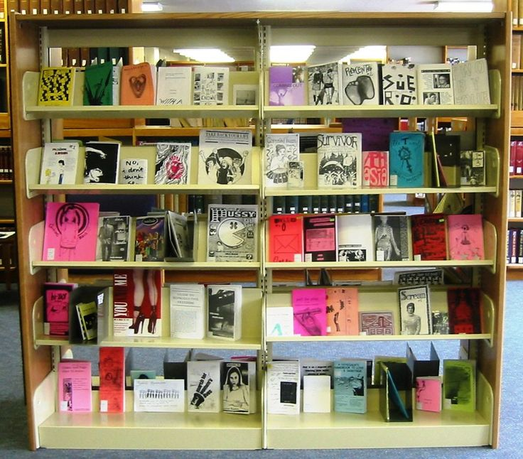 Barnard College's zine library