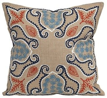Klassik Pillow - transitional - Decorative Pillows - Posh Urban Furnishings